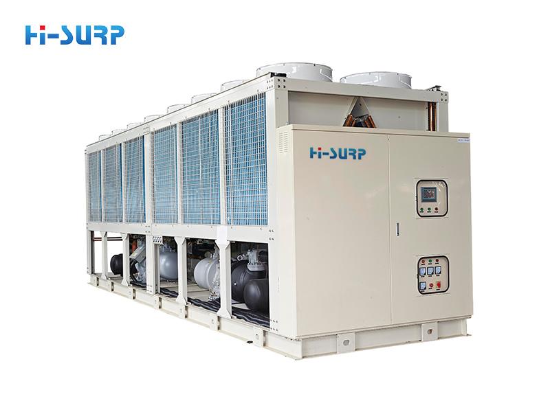 Unidad enfriadora de tornillo (bomba de calor) enfriada por aire
