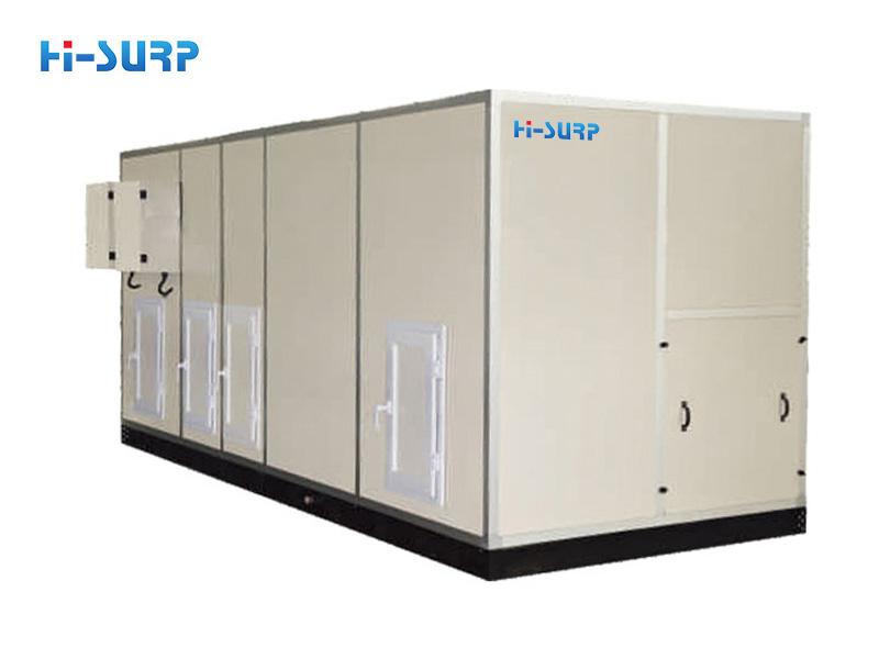 Unidad de aire acondicionado combinado tipo expansión directa