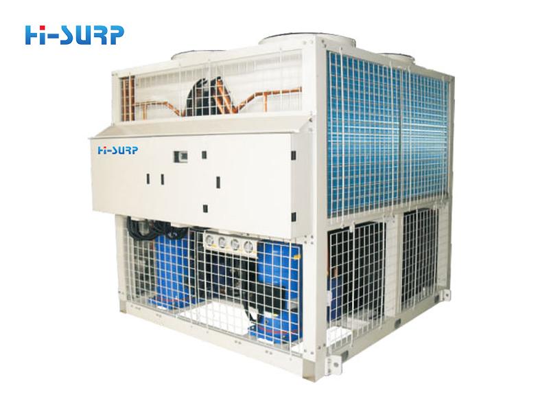 Unidad enfriadora industrial de baja temperatura