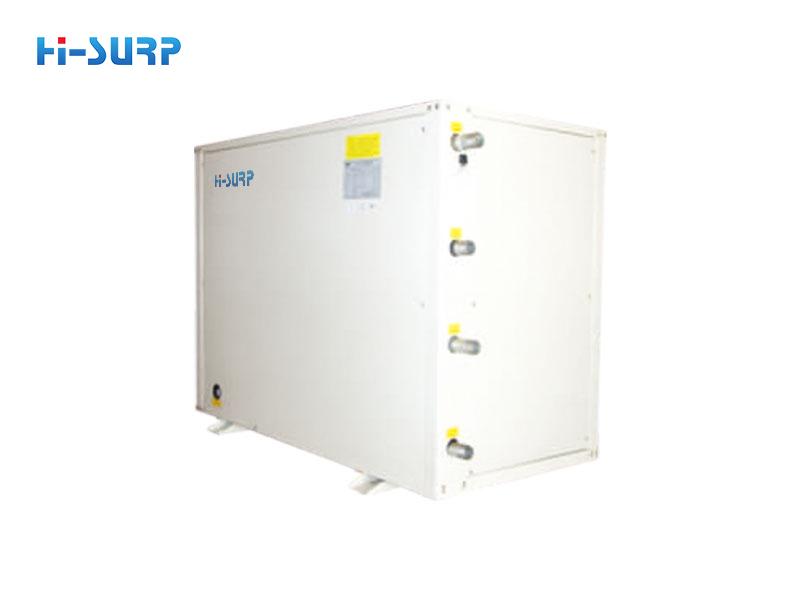 Unidad de bomba de calor con fuente de agua