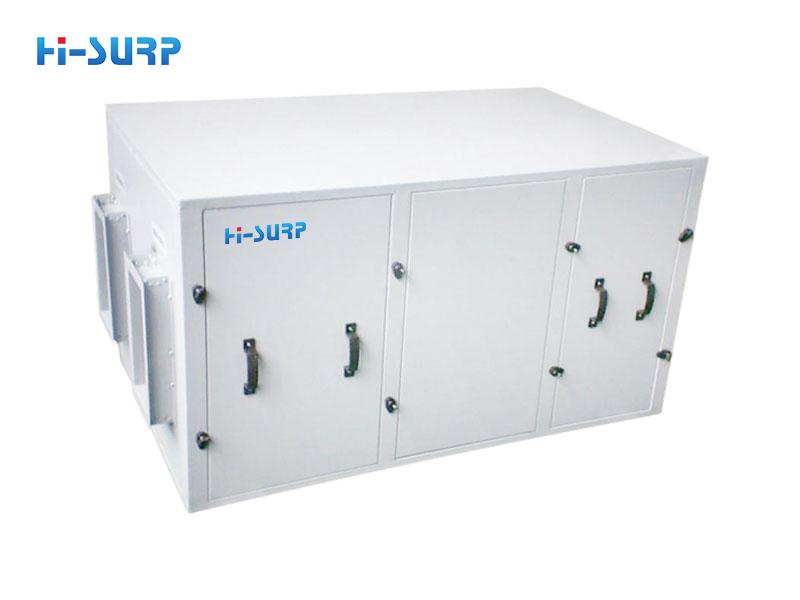 recuperación de calor residual y calor de condensación agotado